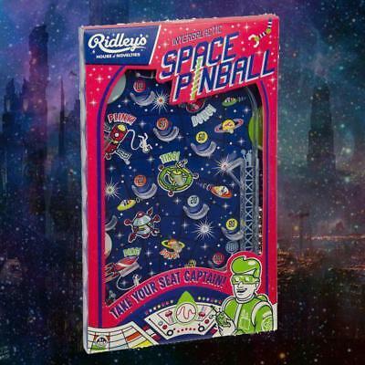 Intergalactic Space Pinball Game   Retro Pin Ball Toy Game Play Kids 70s Space F