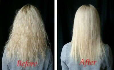 Brazilian Keratin Blow Dry Treatment For Afro Hair Formaldehyde Free + Shampoo