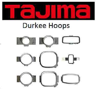 Durkee Hoops for Tajima, Multiple Sizes