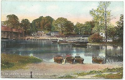 POSTCARD-SCOTLAND-BALLOCH-PTD. The Leven Looking from The Balloch Hotel.