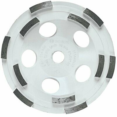 Bosch DC510H 5-Inch Diameter Double Row Diamond Cup Wheel with 5/8-11 Hub