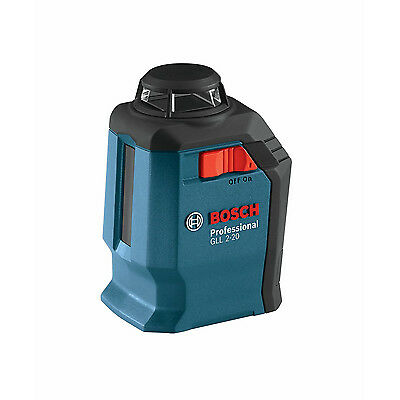 Bosch GLL2-20 360-Degree Three Line Selection Mode Self-Leveling Cross Laser