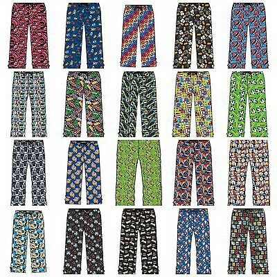 Mens Character Lounge Pants Pyjamas Nightwear Loungewear PJ Bottoms S M L XL