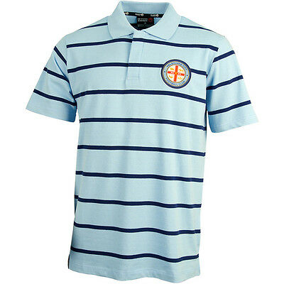 Melbourne City 2015/16 Knitted Polo Shirt Size S-5XL! A League Soccer!
