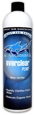 ATM EVERCLEAR POND WATER CLARIFIER KOI CLEAR 473ml 16oz TRUST THE SHARK TANKED