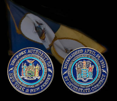 Port Authority of NY & NJ Challenge Coin