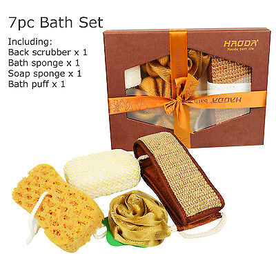 4pc Bath Set, Shower Gift Set, Bath Accessories