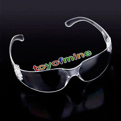 NT Vented Safety Goggles Glasses Eye Protection Protective Lab Anti Fog Clear PC