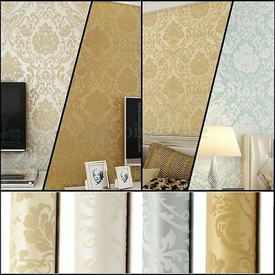 10m vliestapete tapeten wand papier f r wohnzimmer barock ornament dekoration eur 8 99. Black Bedroom Furniture Sets. Home Design Ideas