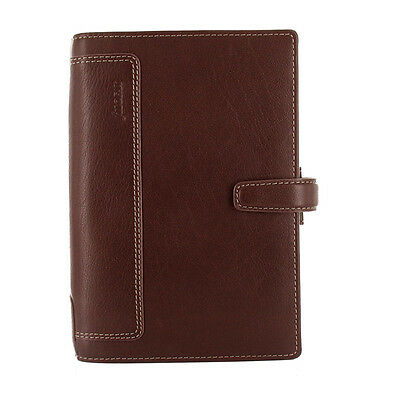 New Filofax Personal Size Holborn Organiser Planner Diary Leather Brown - 025120