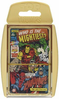 Top Trumps - Retro Marvel Comics Who Is The Mightiest