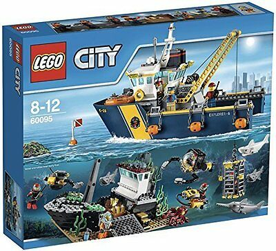 LEGO® City 60095 Tiefsee-Expeditionsschiff NEU NEW OVP MISB