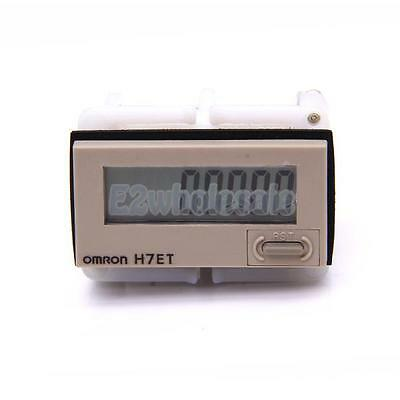 Screw Terminal Resettable Digital Dispaly Time Counter H7ET-N1 0-999 hours 1kHz