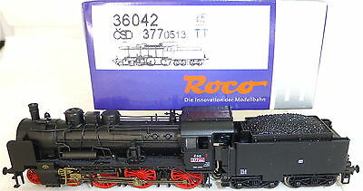 CSD Rh 377 Steam locomotive Trailing tender NEM DSS Roco TT 1:120 NEW #LH3µ
