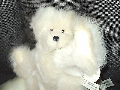 "1997 ""SERENA"" Angel Bear Collection 10"" Plush Bear w/Pillow - Annette Funicello"