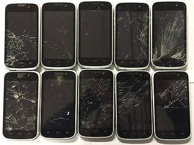 Lot Of 75 Zte Imperial N9101 Smartphones Android Cdma White