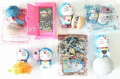 Doraemon RARE Japan Anime Toy Lot Collection Periscope Anywhere Door Camera UFO