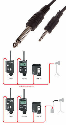KARLite Pocketwizard to Studio Flash connecting cable MP1 MP-1