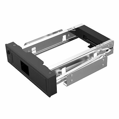 """ORICO 5.25"""" Inch PC Drive Bay Adapter HDD Caddy Rack for 3.5 Inch SATAIII HDD BK"""