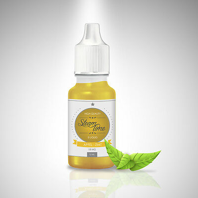 SteamTime 50ml Premium E-Liquid (23,80€/100ml) - Made in Germany e Liquid Aroma