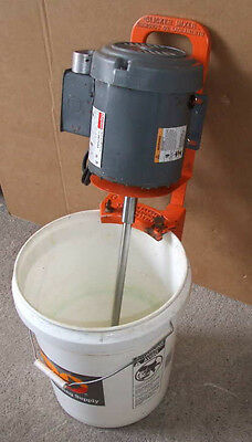 New Heavy Duty Clamp Mount Paint Mixer