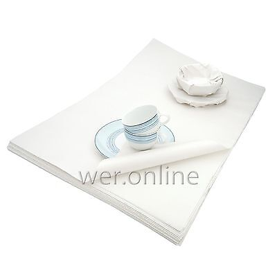 600 Sheets White Packaging Paper News Offcuts 10Kg Packs