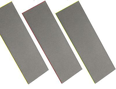 CT0823/4/5 3PC Diamond Sharpening Stone Set Fine, Extra Fine & Coarse Whetstone