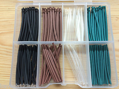 8 Meters of Rig Tubing,Heat Shrink in various colours & sizes + 6 Section T/Box