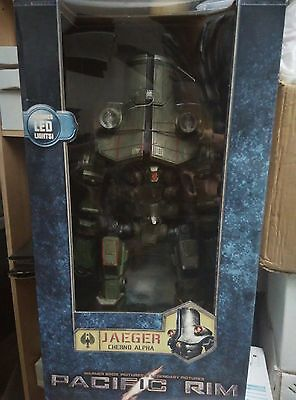 """Pacific Rim Movie Cherno Alpha Jaeger 18"""" Inch LED Action Figure"""
