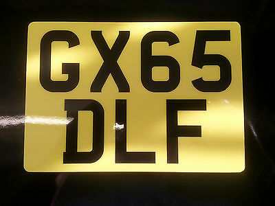 "''NEW DURABLE DESIGN'' ENDURO MOTORCYCLE  FLEXI REG NUMBER PLATE 7"" x 5"""