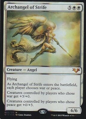 MAGIC Archangel of Strife FOIL From the Vault Angels
