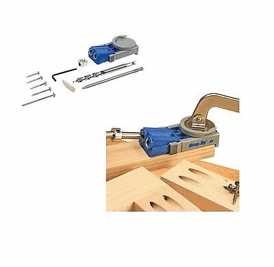 Kreg R3 Jig Junior Pocket Hole Wood Joinery Kit Woodwork Joint Carpentry Tools