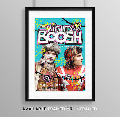 The Mighty Boosh Cast Signed Autograph Print Poster Photo Tv Show Series Season