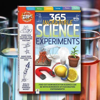 365 Incredible Science Experiments Activity Book - Learning Fun Kids Children