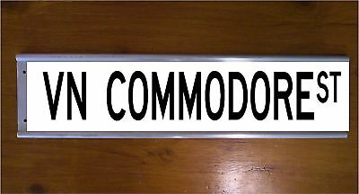 Vn Commodore Street Sign Road Sign/ Bar Sign - Car - Classic