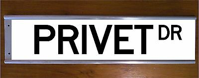 Privet Drive Road Street Sign Bar Sign - Wizard Witch School Harry Potter