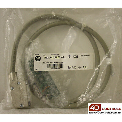 Allen Bradley 1492-ACABLE010R Pre-wired Cable - New Surplus Sealed - Series A