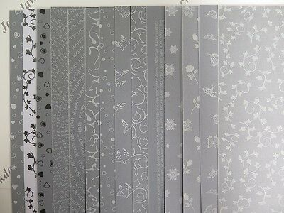 Printed Vellum Mix 28 A4 Sheets (2 of each design) Snowflakes Butterflies AM515