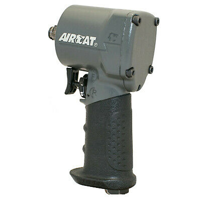 """Aircat 1055-Th 1/2"""" Compact Impact Wrench 500Ft Lbs Max Torque @90Psi"""