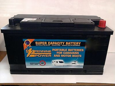 12V 110AH Leisure Battery for Motorhome,Caravan & Marine