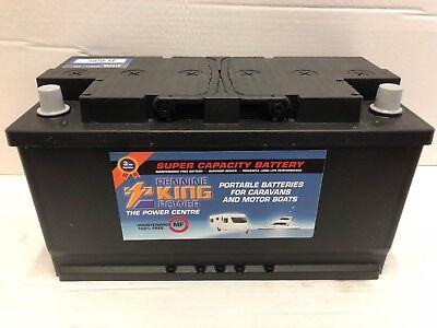 2 (Pair) X 12V 110AH Deep Cycle Battery Leisure Caravan Marine Boat