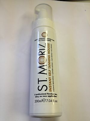 St Moriz Instant Self Tanning Mousse Fake Tan : Mild To Dark Tan
