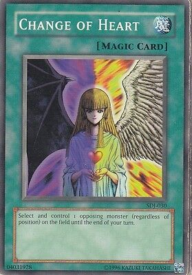YU-GI-OH PLAYED Change of HEart Common englisch Überläufer