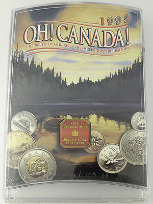 1999 Oh! Canada! Uncirculated Coin Set - Royal Canadian Mint