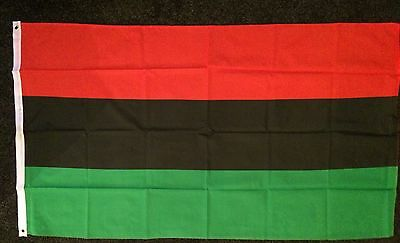Pan African Flag Black Lives Matter Panthers Afro-American UNIA Civil Rights 5x3