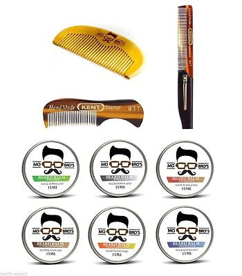 Mo Bros Peigne À Barbe & Soin Barbe & Tenu Baume - Stylisation Kit
