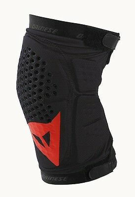 Dainese Trail Skins Knee Guard Red & Black All Sizes