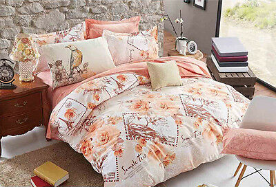 Romantic Paris Queen/King/Super Size Bed Duvet/Doona/Quilt Cover Set M286