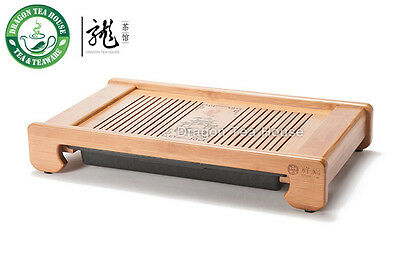 Gate of Dragon * Bamboo Gongfu Tea Serving Tray 30*23cm