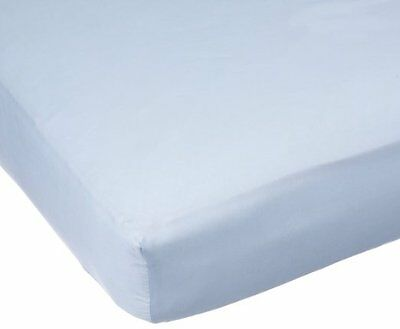 Carters Easy Fit Sateen Crib Fitted Sheet - Blue